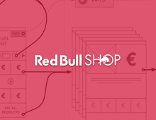 Red Bull Shop Christmas campaign